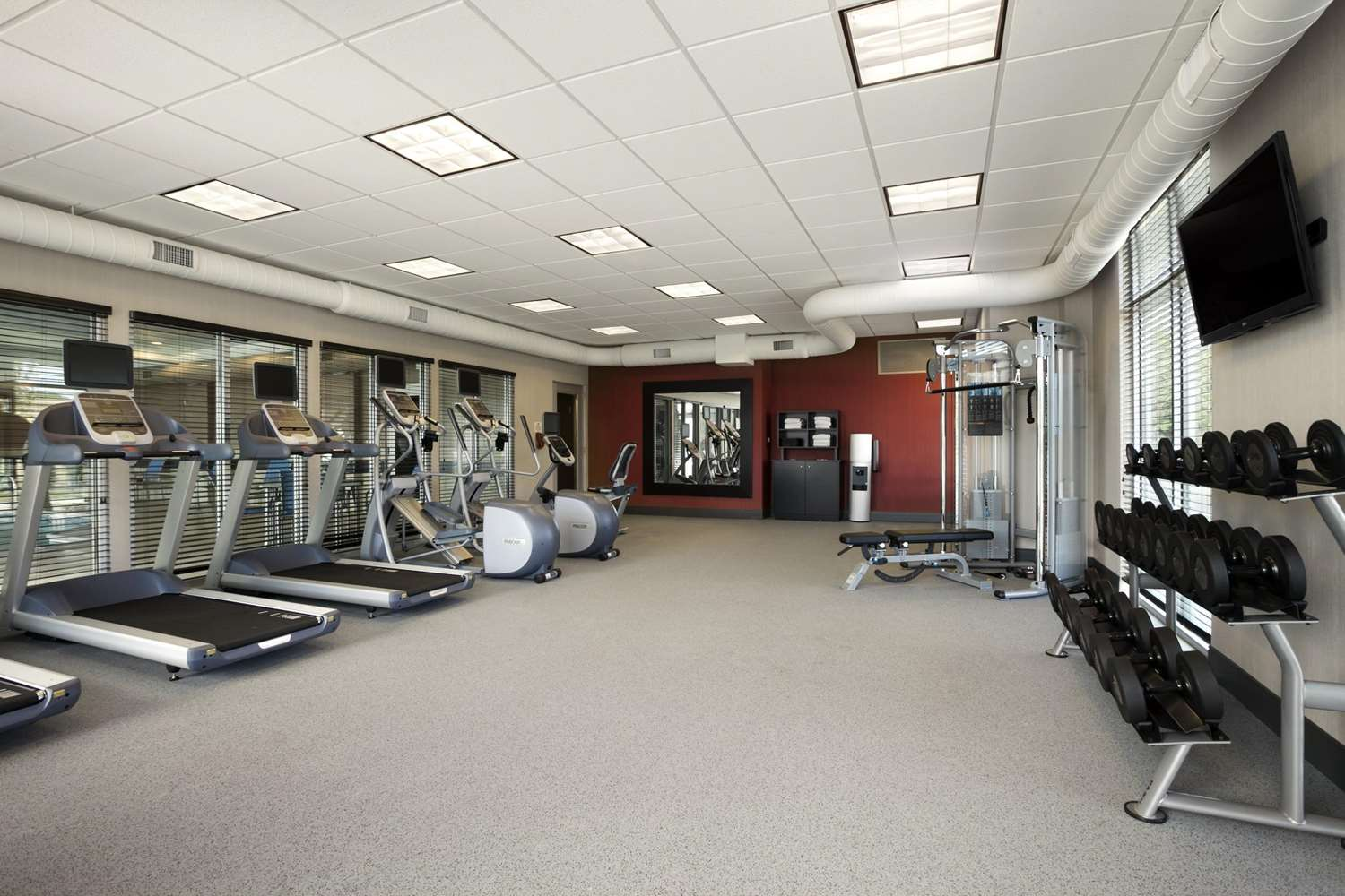 Fitness/ Exercise Room - Homewood Suites by Hilton OSU Columbus
