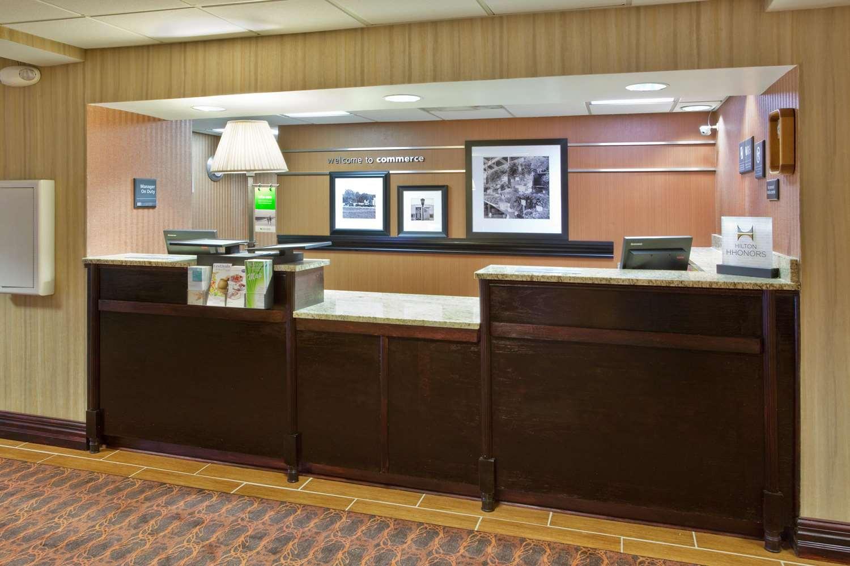 Lobby - Hampton Inn Commerce