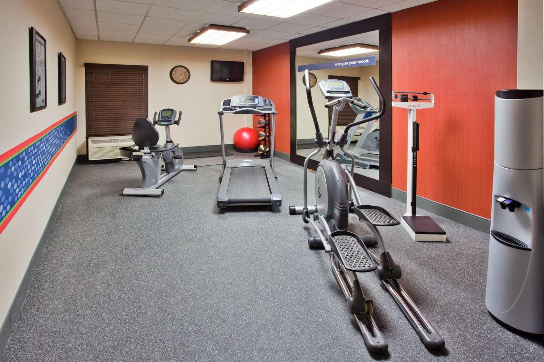Fitness/ Exercise Room - Hampton Inn Commerce