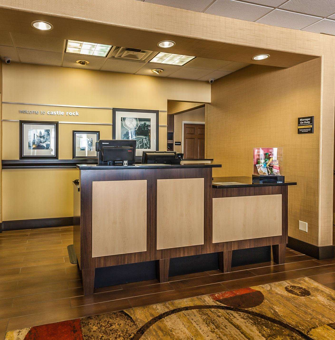 Lobby - Hampton Inn Castle Rock