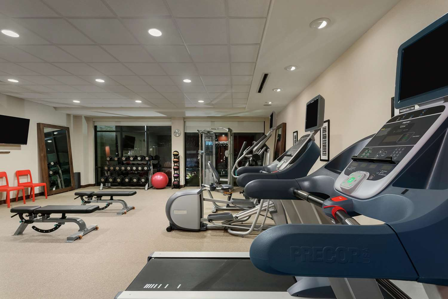 Fitness/ Exercise Room - Home2 Suites by Hilton Frisco