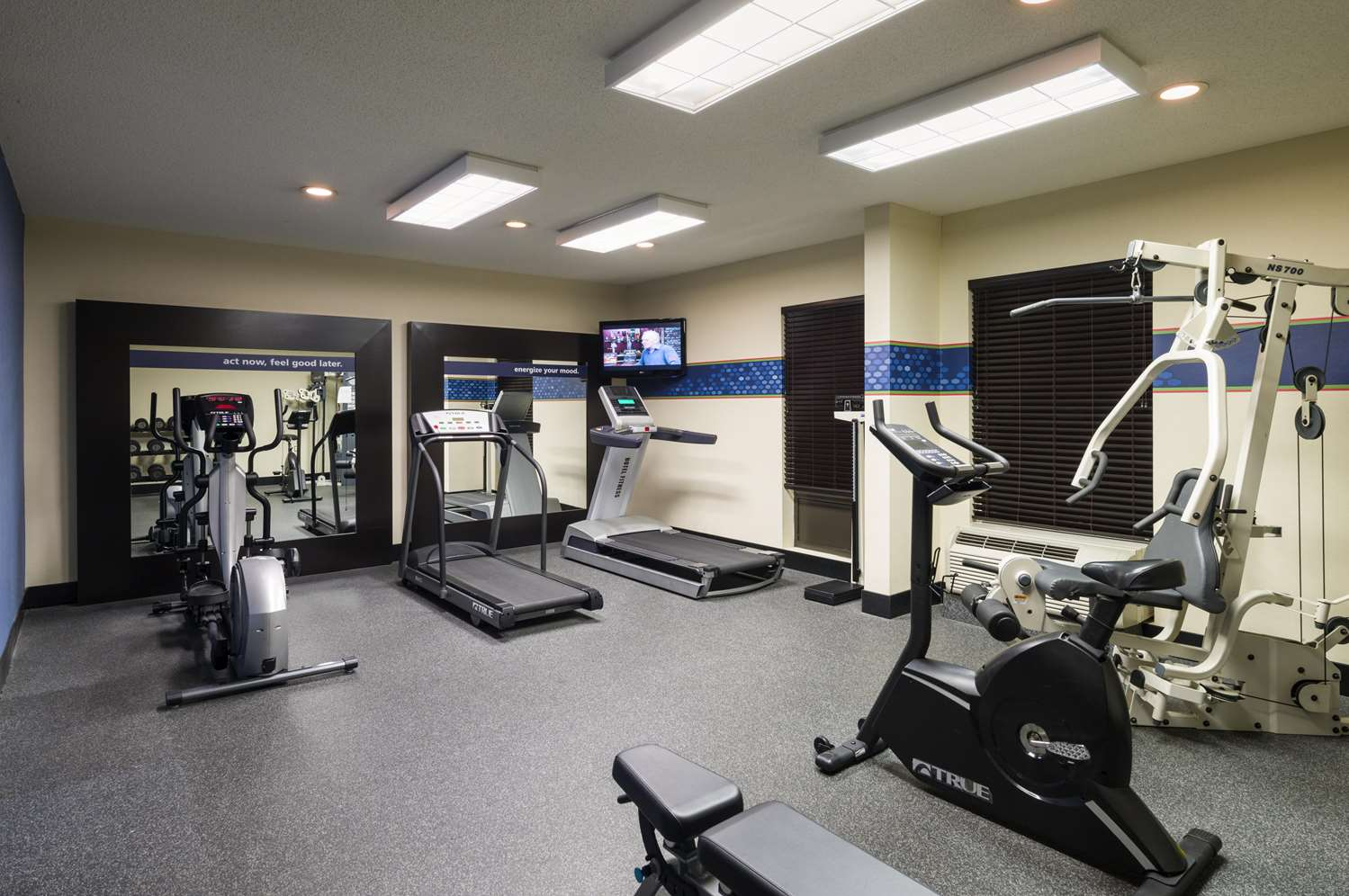 Fitness/ Exercise Room - Hampton Inn Danville