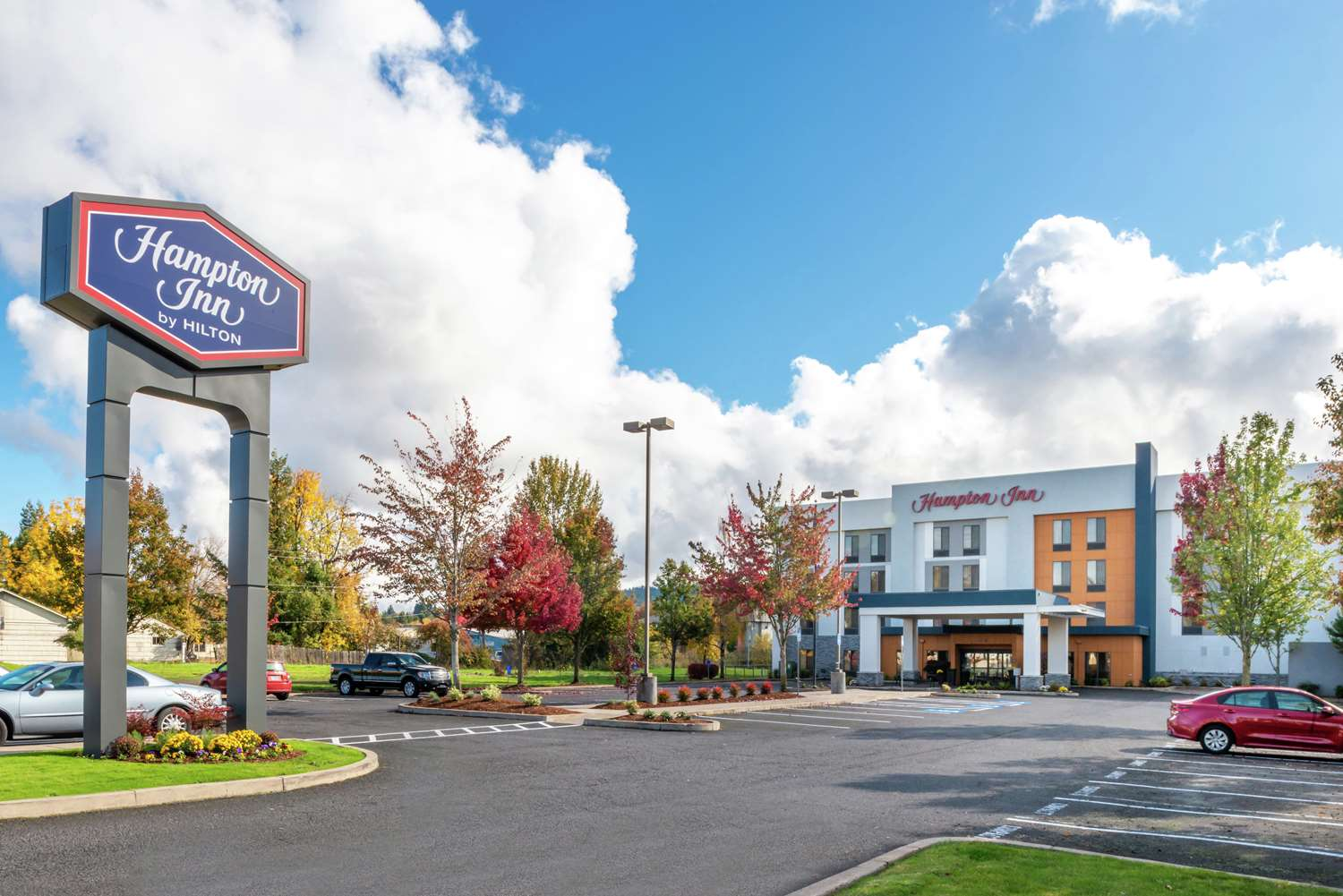 Exterior view - Hampton Inn Eugene