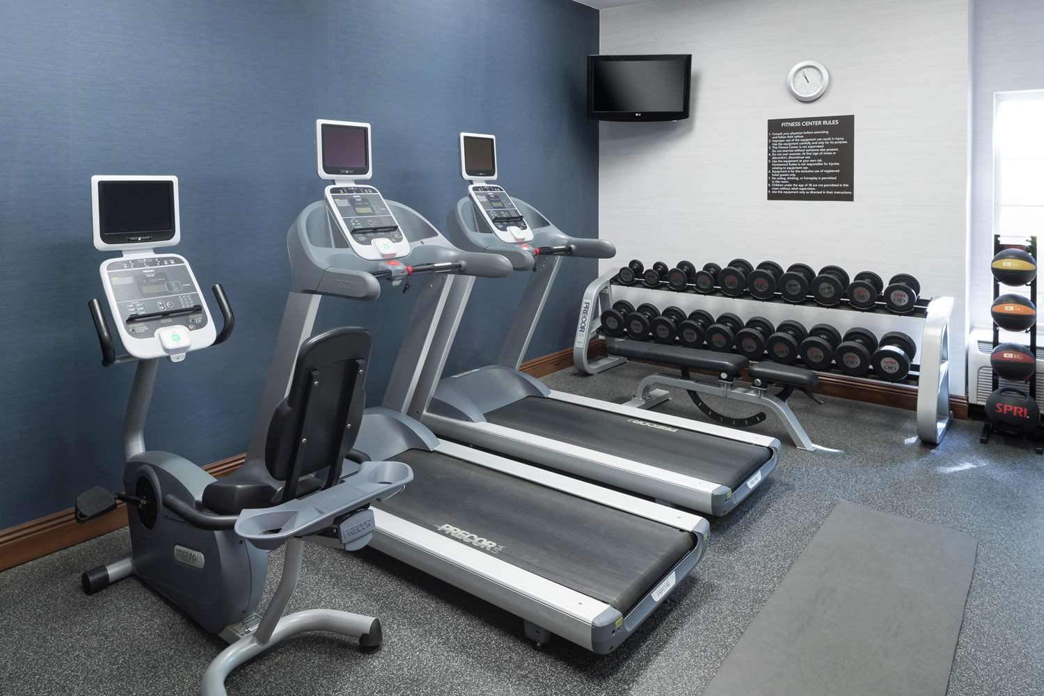 Fitness/ Exercise Room - Homewood Suites by Hilton Clovis