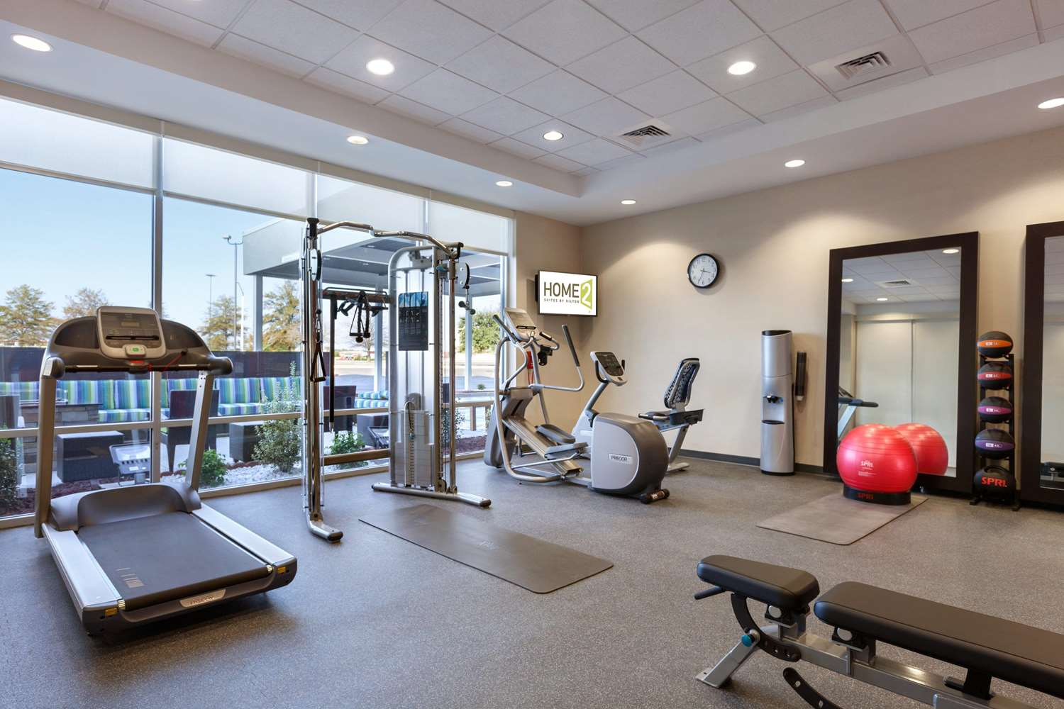 Fitness/ Exercise Room - Home2 Suites by Hilton Florence