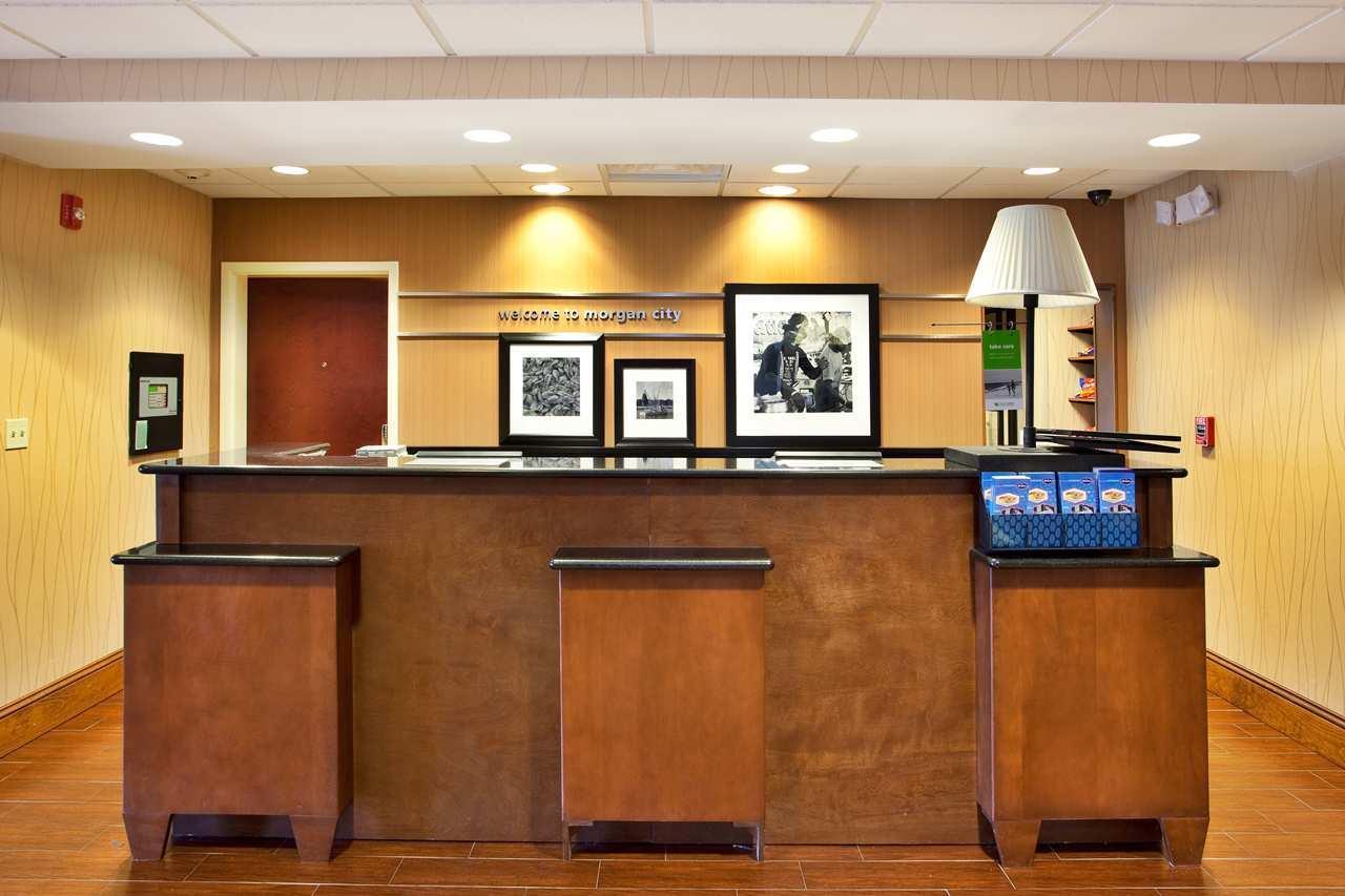 Lobby - Hampton Inn & Suites Morgan City