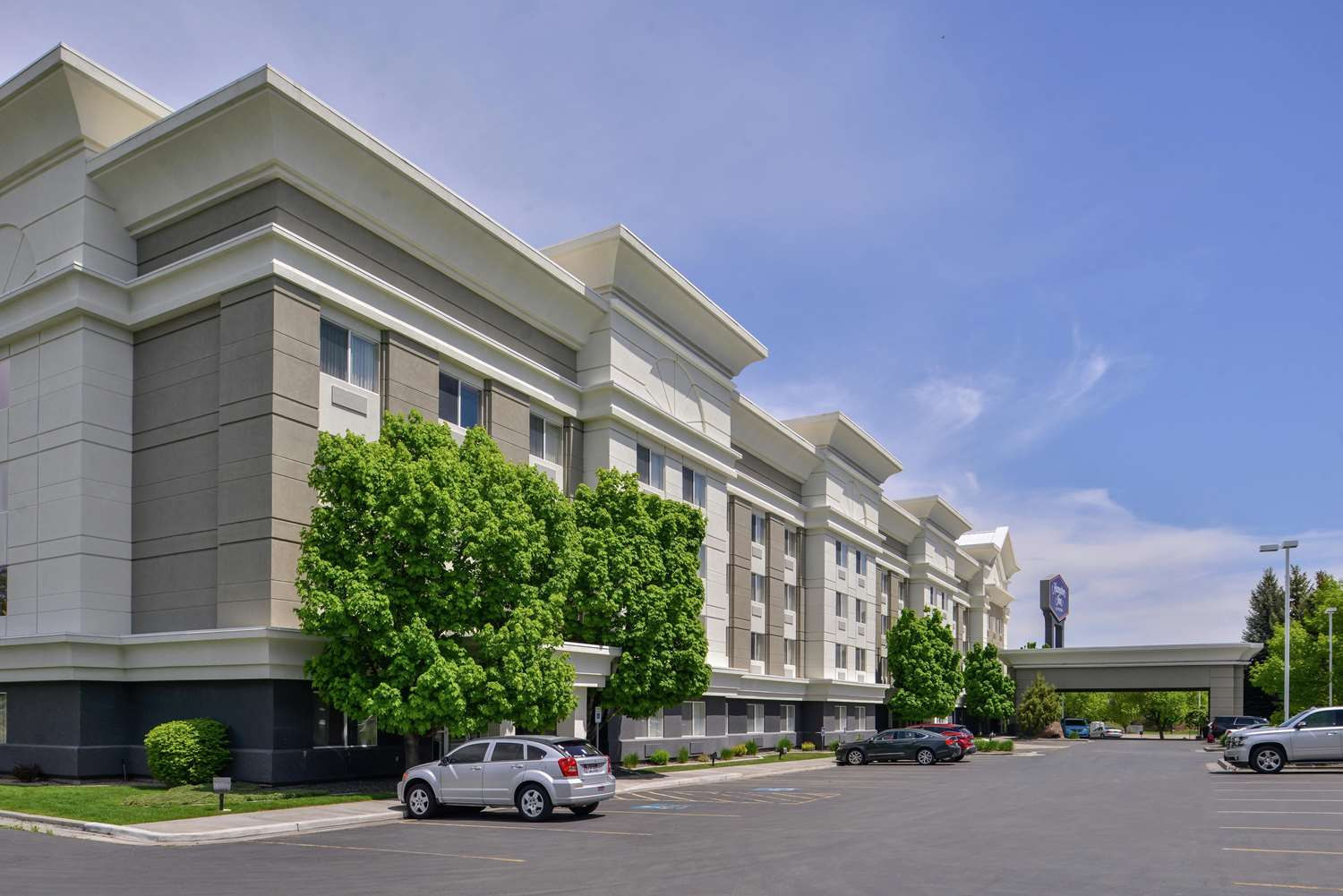 Exterior view - Hampton Inn Airport Idaho Falls