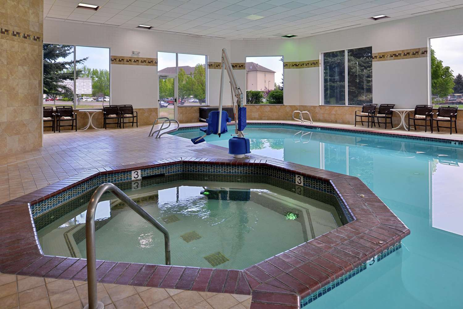 Pool - Hampton Inn Airport Idaho Falls