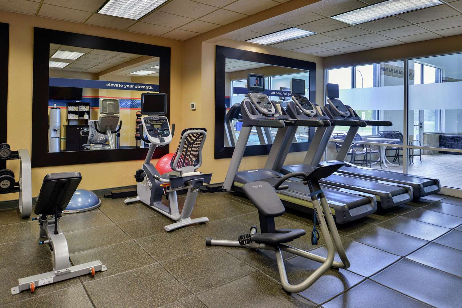 Fitness/ Exercise Room - Hampton Inn Airport Idaho Falls