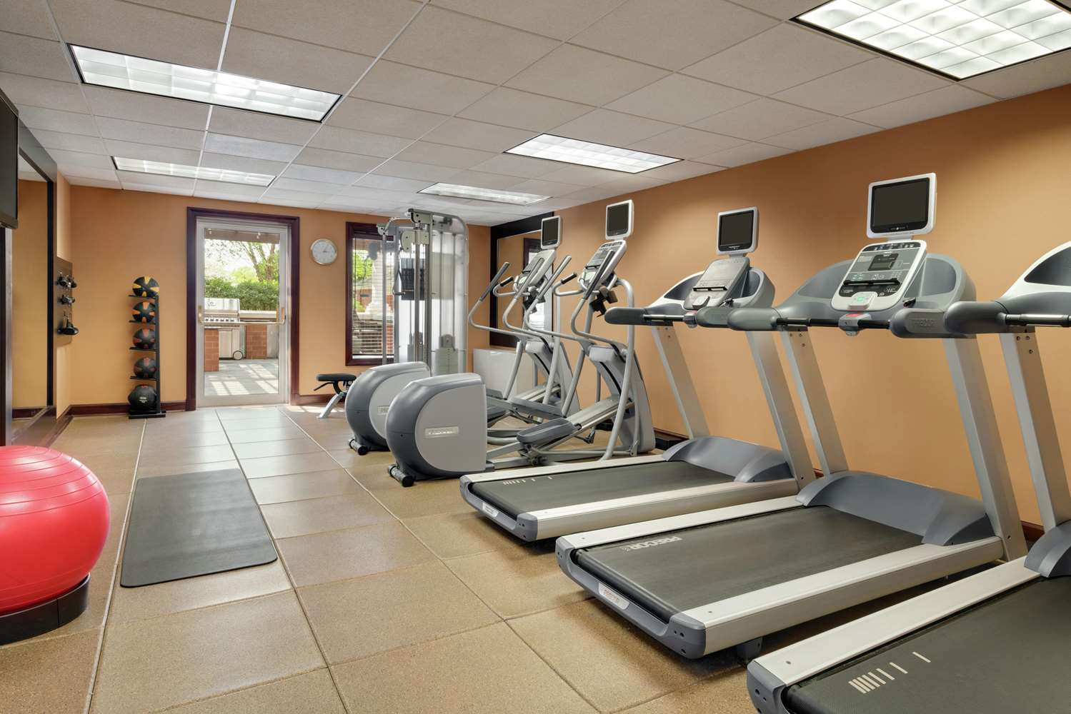 Fitness/ Exercise Room - Homewood Suites by Hilton Brandywine Valley Wilmington
