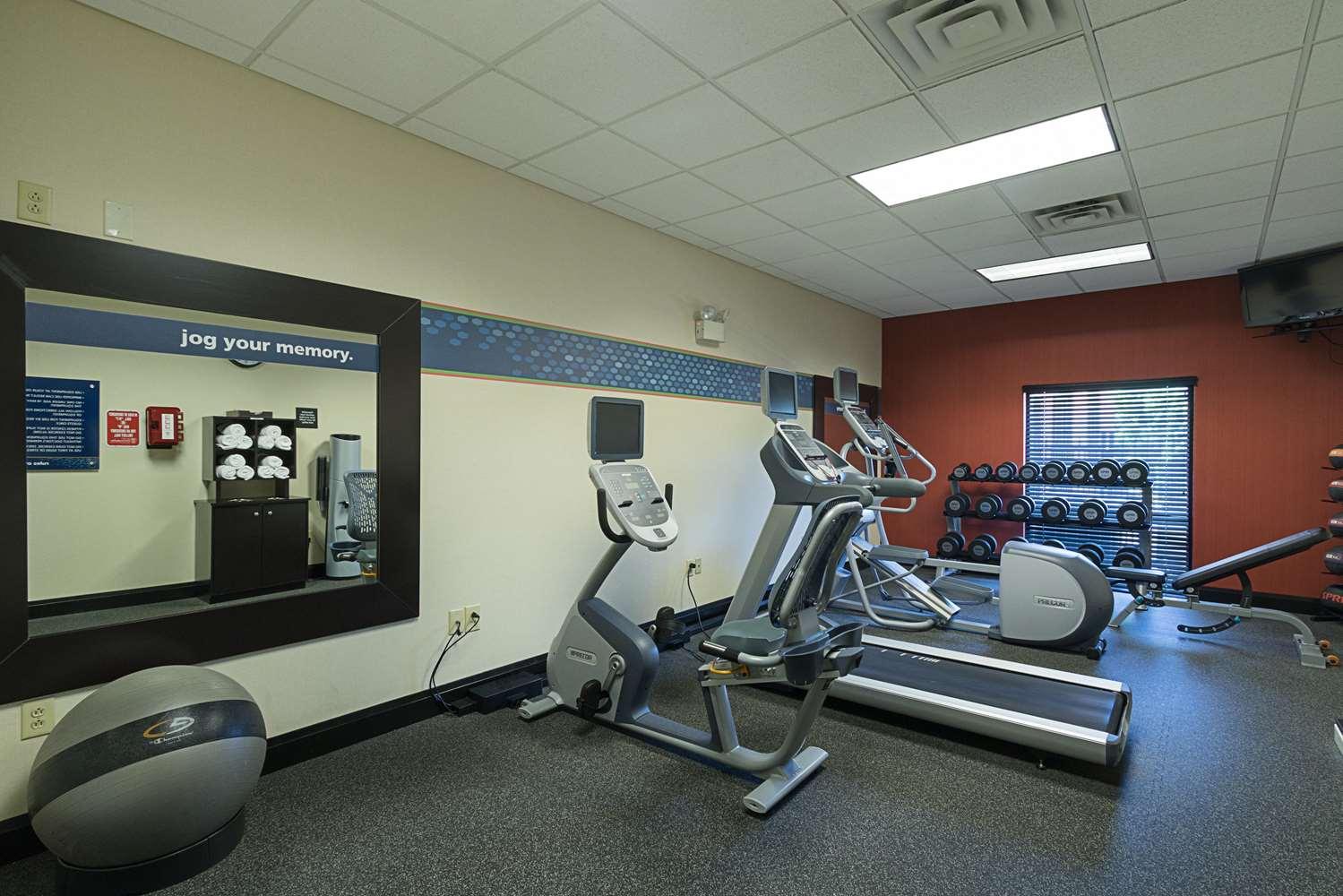 Fitness/ Exercise Room - Hampton Inn & Suites Brownsburg