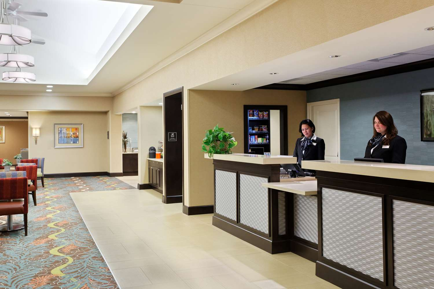 Lobby - Homewood Suites by Hilton Airport Orlando