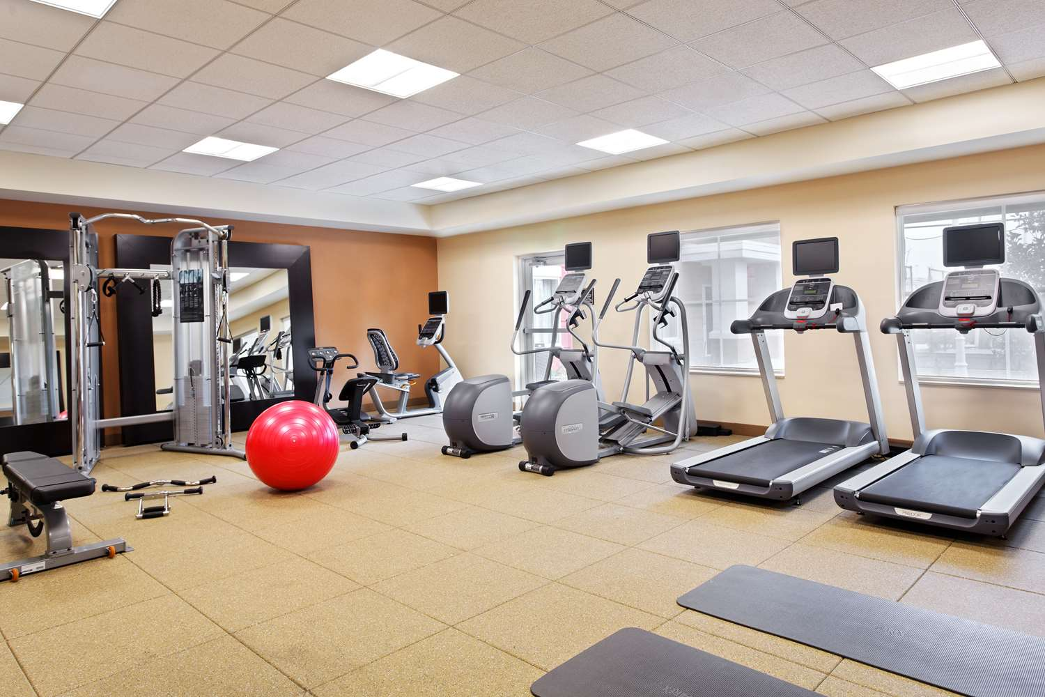 Fitness/ Exercise Room - Homewood Suites by Hilton Airport Orlando