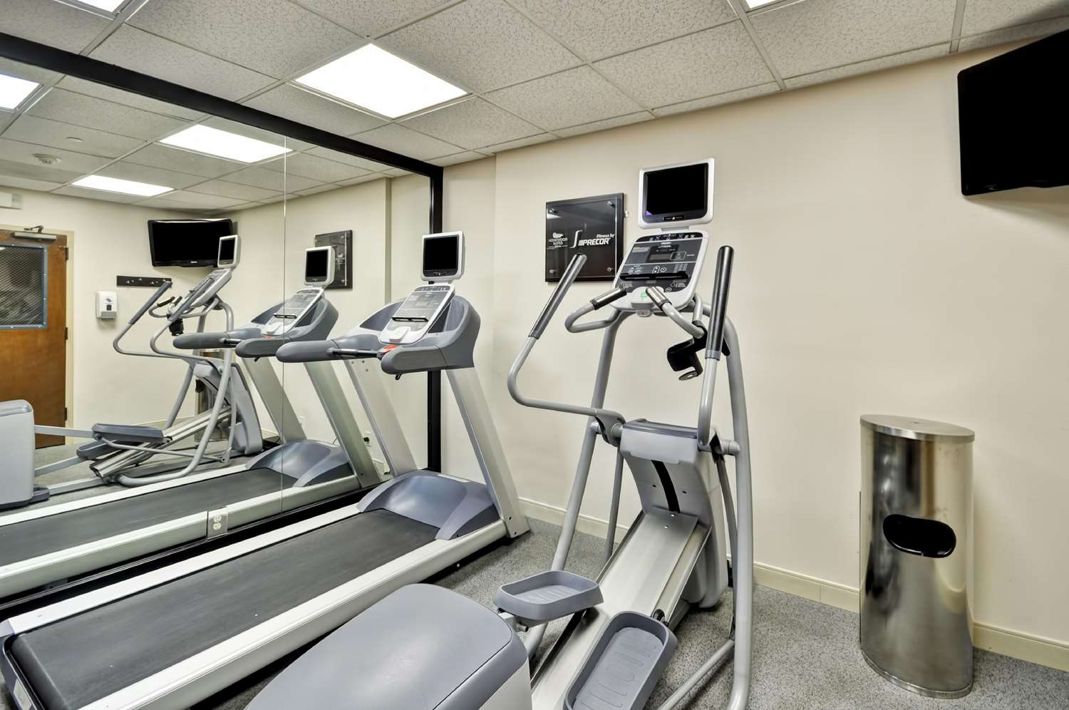 Fitness/ Exercise Room - Homewood Suites by Hilton Germantown