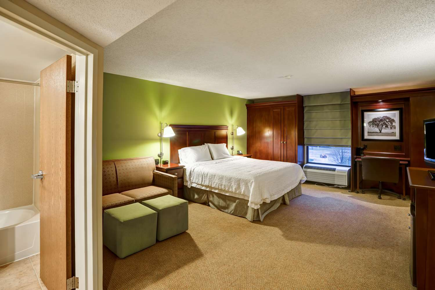 Room - Hampton Inn Morgantown