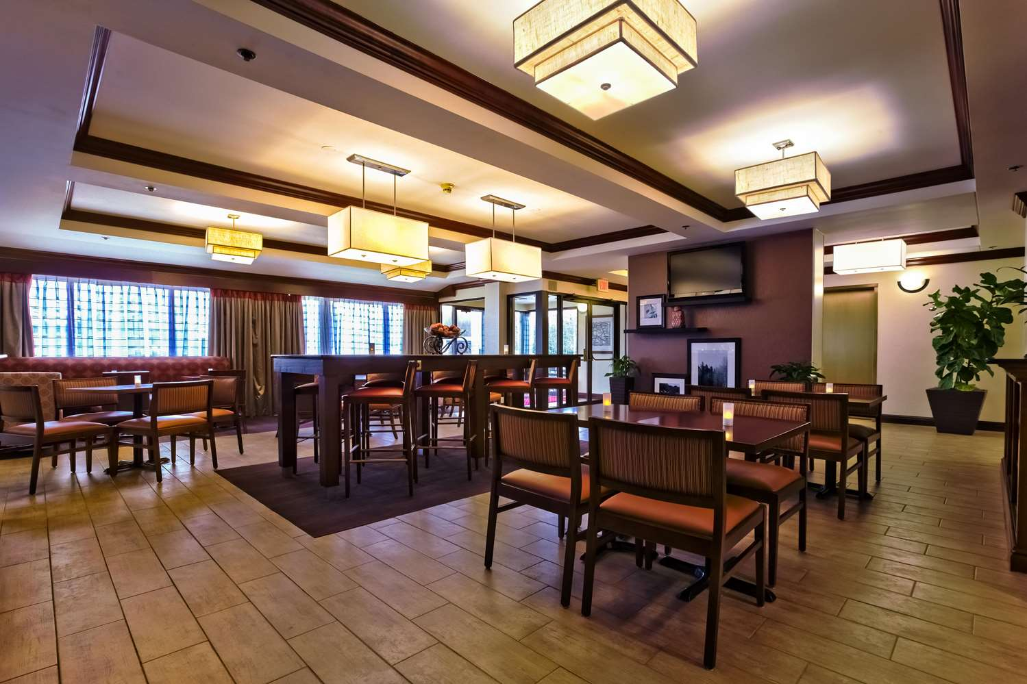 Restaurant - Hampton Inn Manheim
