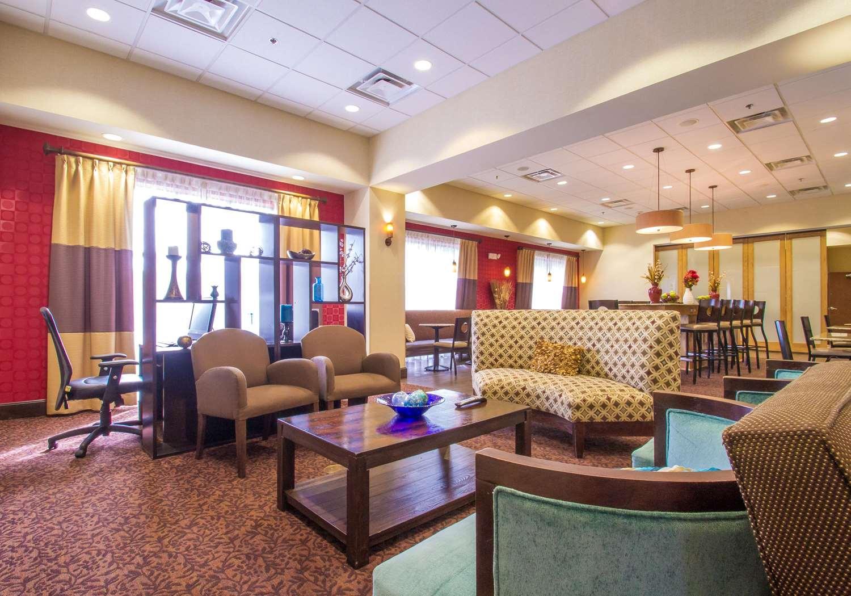 Lobby - Hampton Inn Greenville