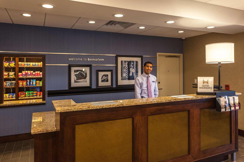Lobby - Hampton Inn & Suites Bensalem