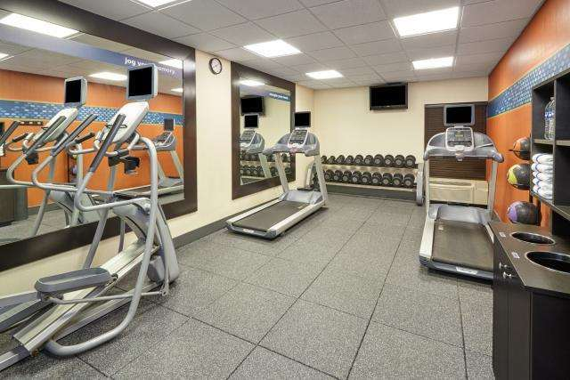 Fitness/ Exercise Room - Hampton Inn at Riverboat Casino East Peoria