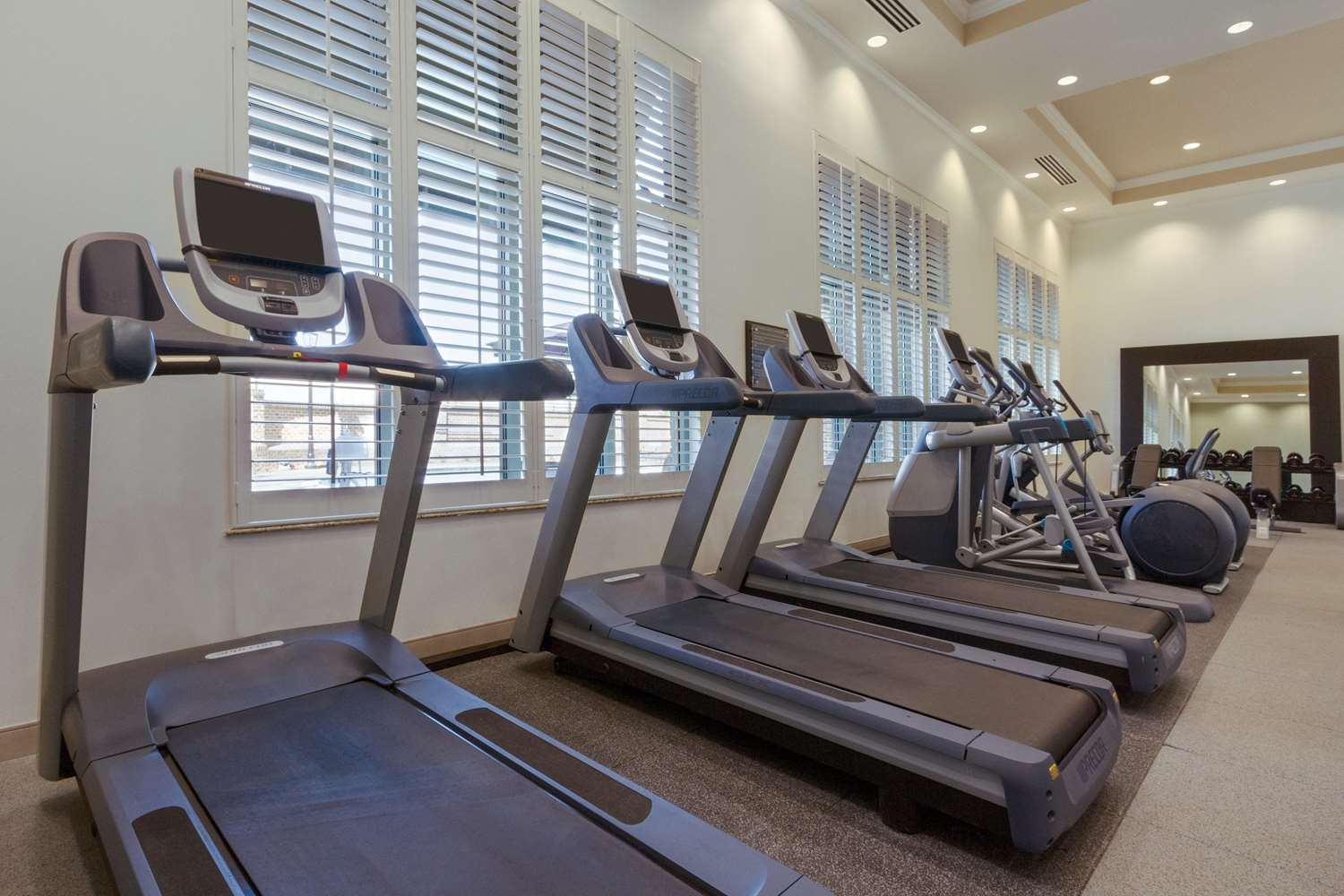 Fitness/ Exercise Room - Embassy Suites Savannah