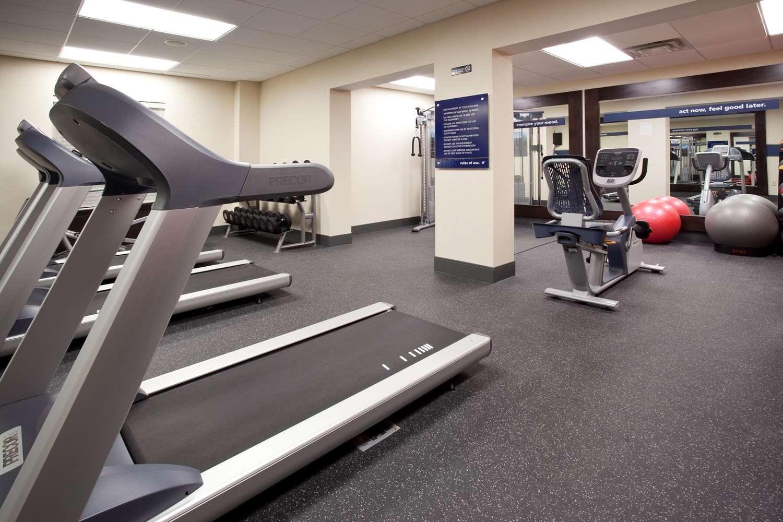 Fitness/ Exercise Room - Hampton Inn West Cedar Bluff Knoxville