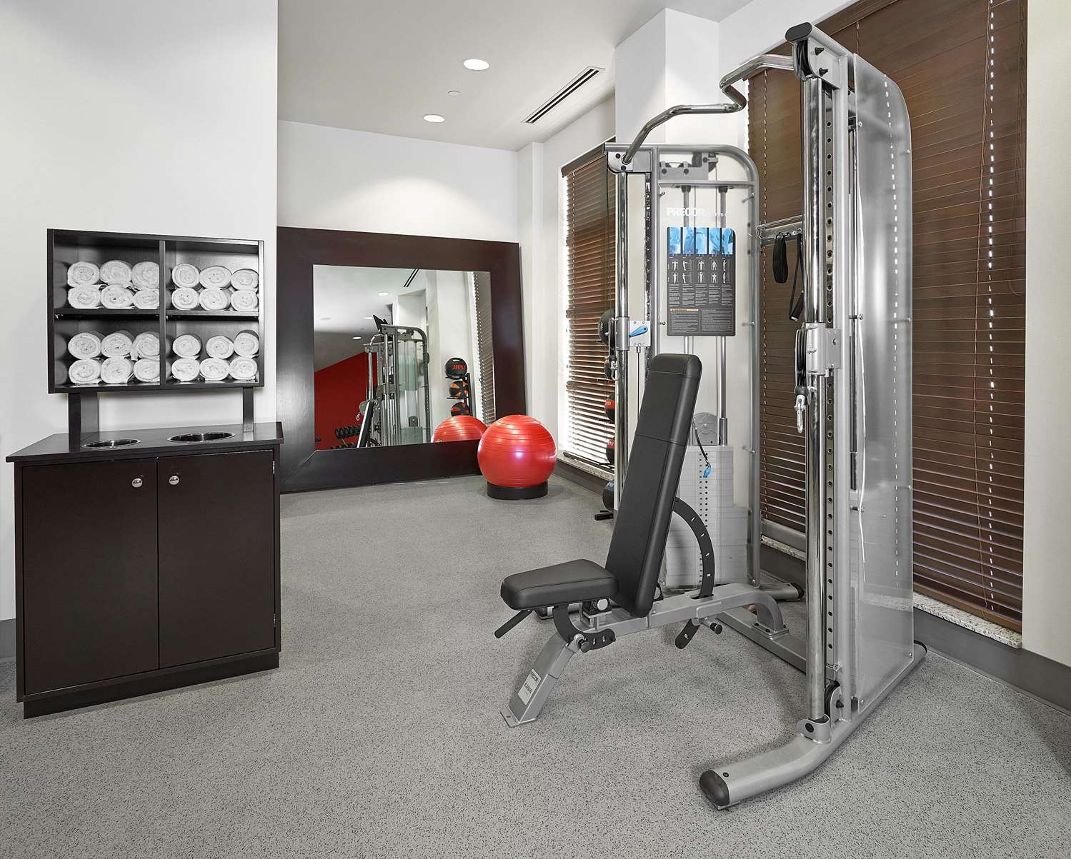 Fitness/ Exercise Room - Hampton Inn Airport North Calgary