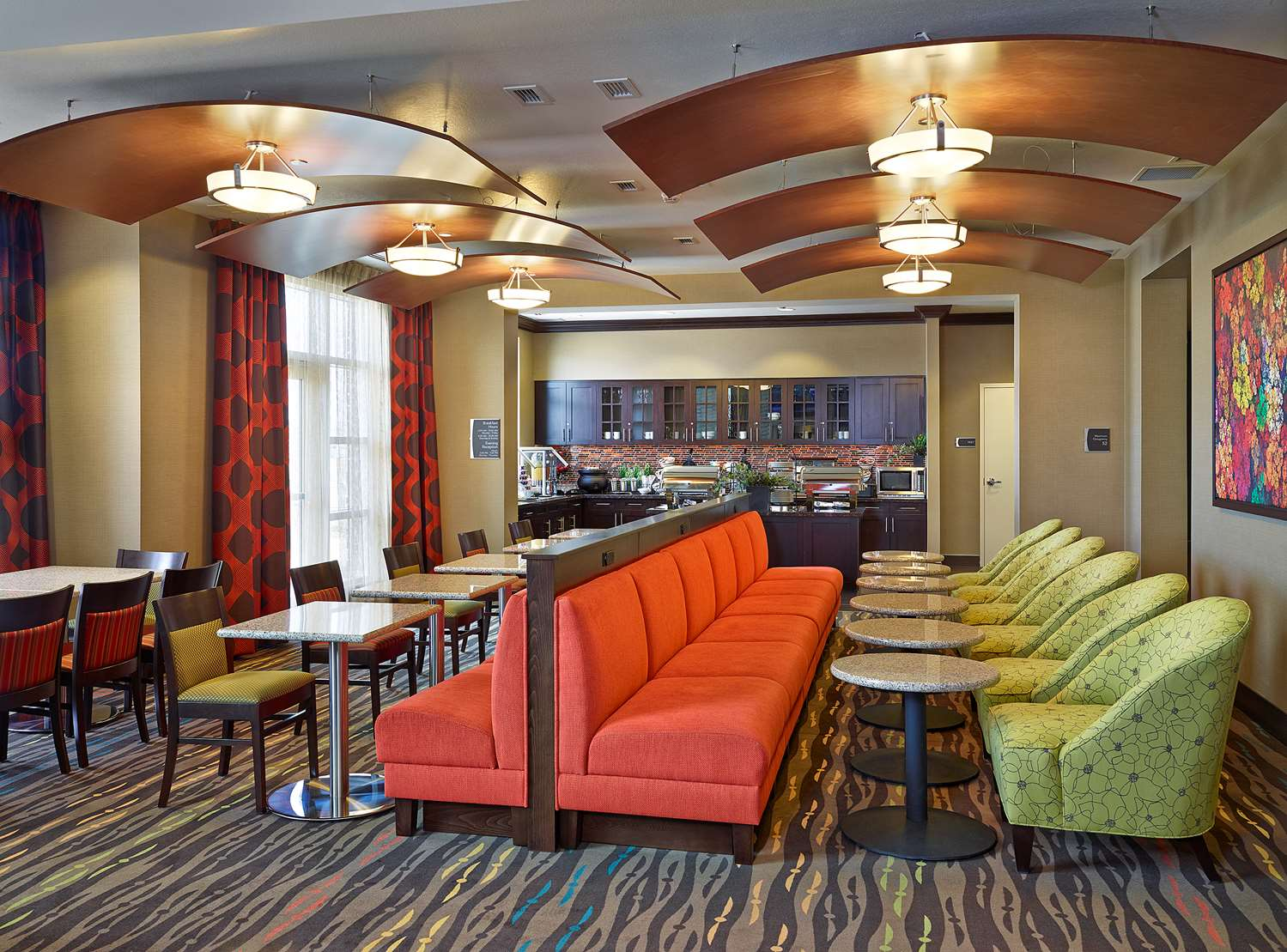 Restaurant - Homewood Suites by Hilton Airport Calgary