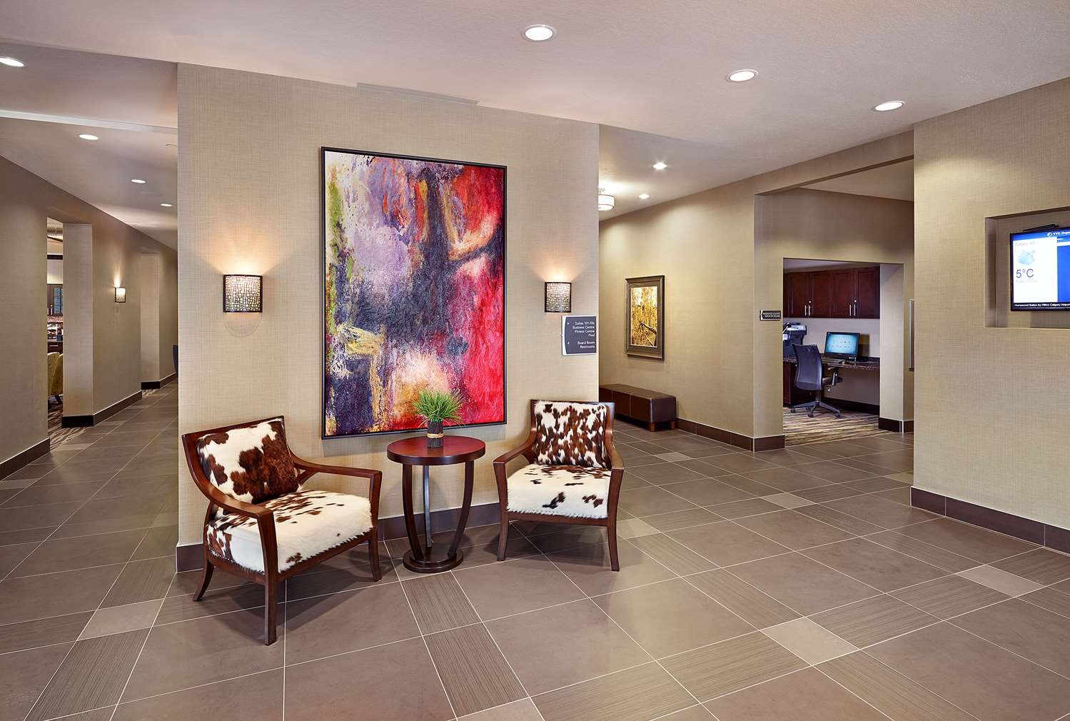 Lobby - Homewood Suites by Hilton Airport Calgary