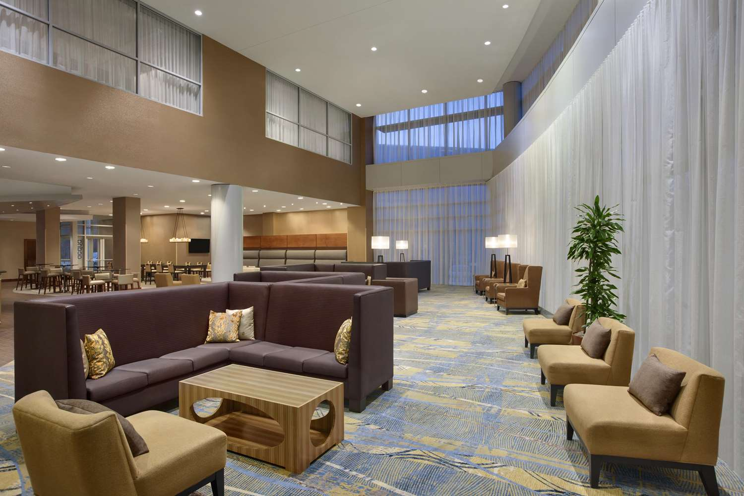 Lobby - Hilton Hotel BWI Airport Linthicum