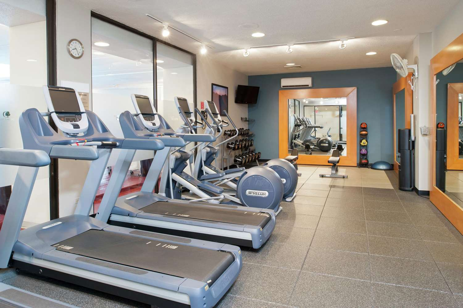 Fitness/ Exercise Room - DoubleTree by Hilton Hotel North Shore Skokie