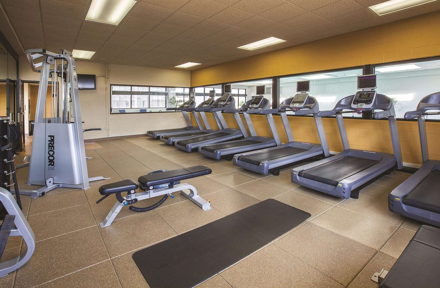 Fitness/ Exercise Room - DoubleTree by Hilton Hotel Oak Brook