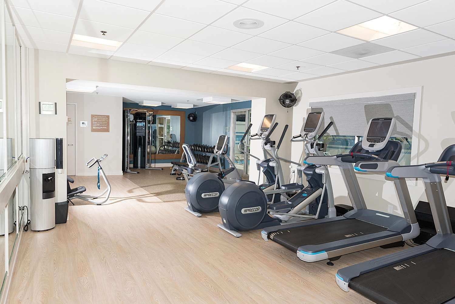 Fitness/ Exercise Room - DoubleTree by Hilton Hotel Gateway Village Charlotte