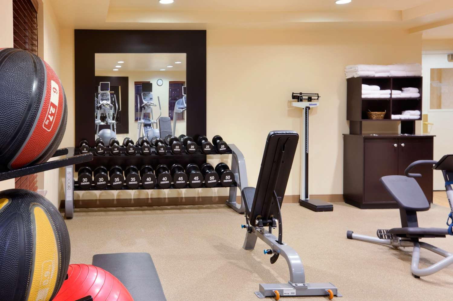 Fitness/ Exercise Room - Homewood Suites by Hilton Edgewater