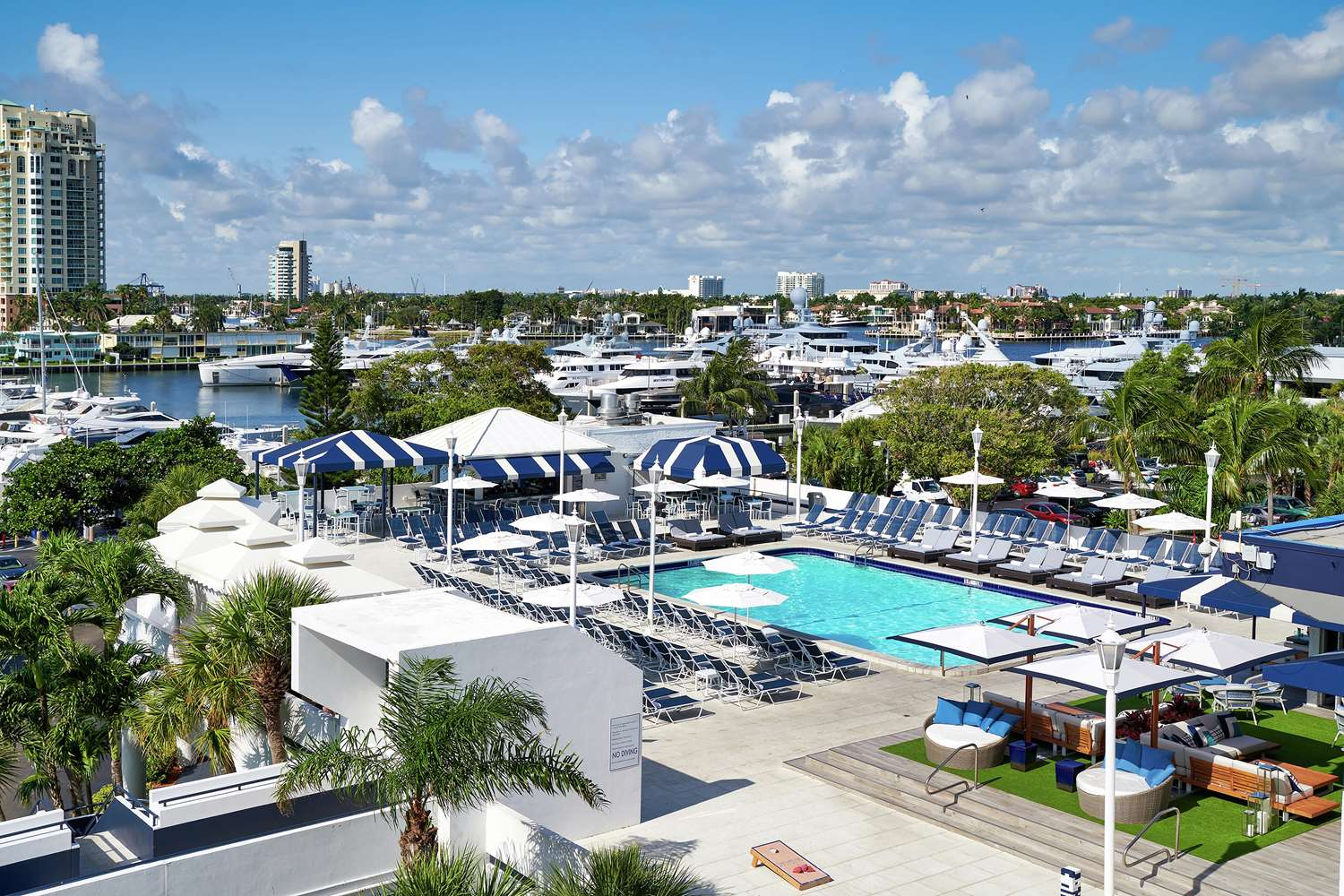 Pool - Bahia Mar Hotel Fort Lauderdale