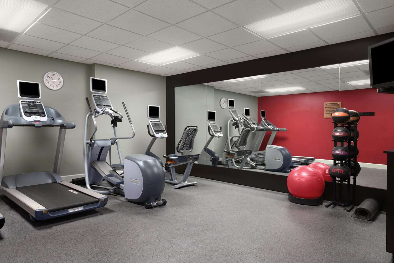 Fitness/ Exercise Room - Homewood Suites by Hilton Fort Myers