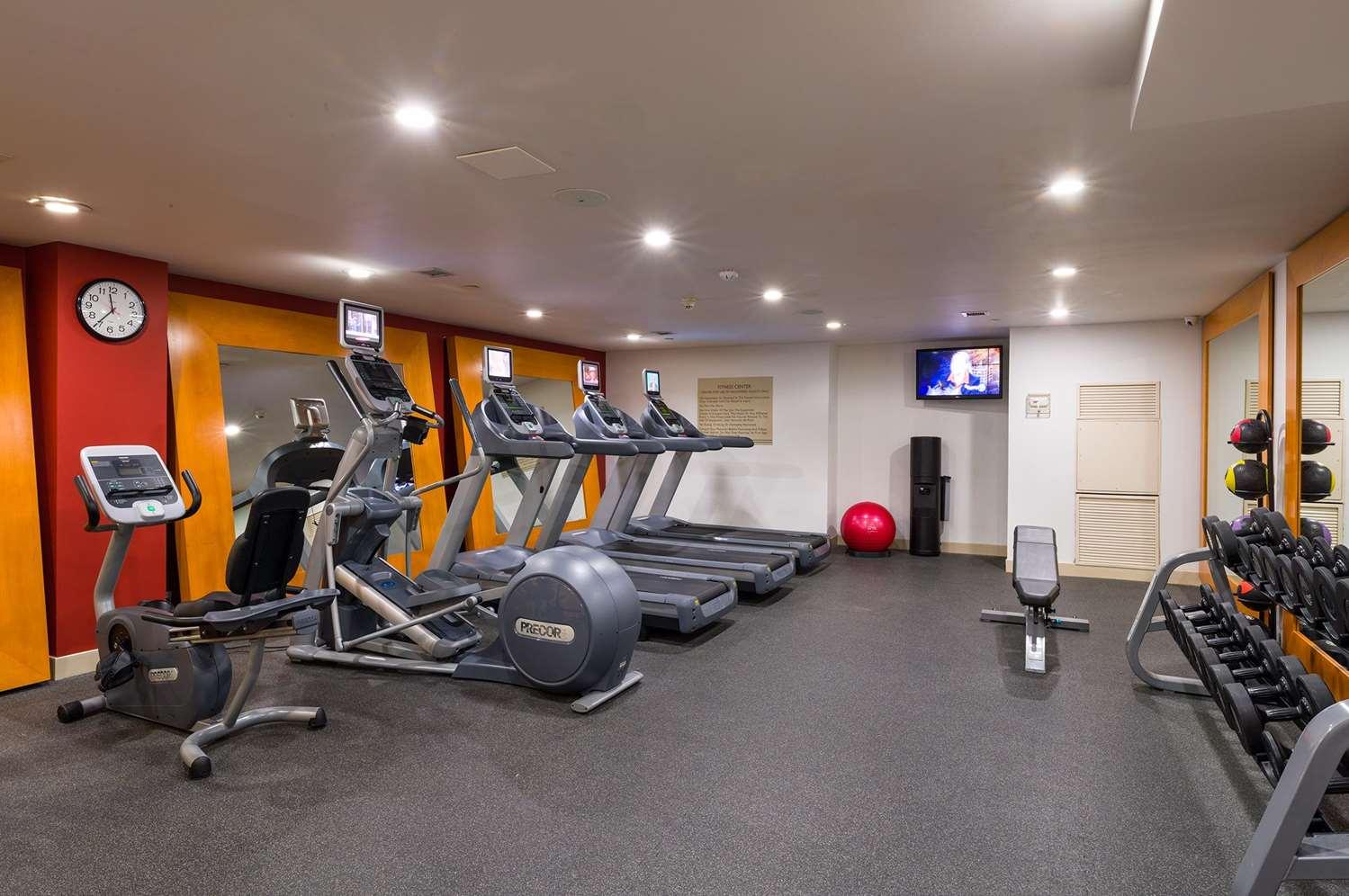 Fitness/ Exercise Room - Hilton Garden Inn Tribeca New York