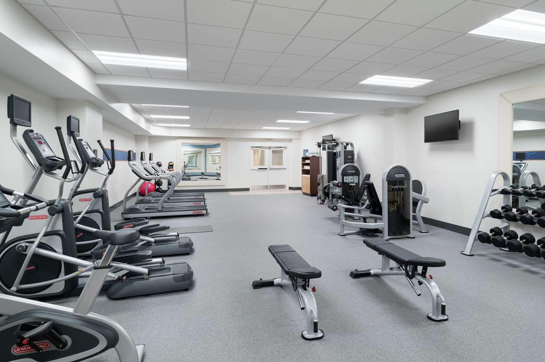 Fitness/ Exercise Room - Hampton Inn City Center Philadelphia