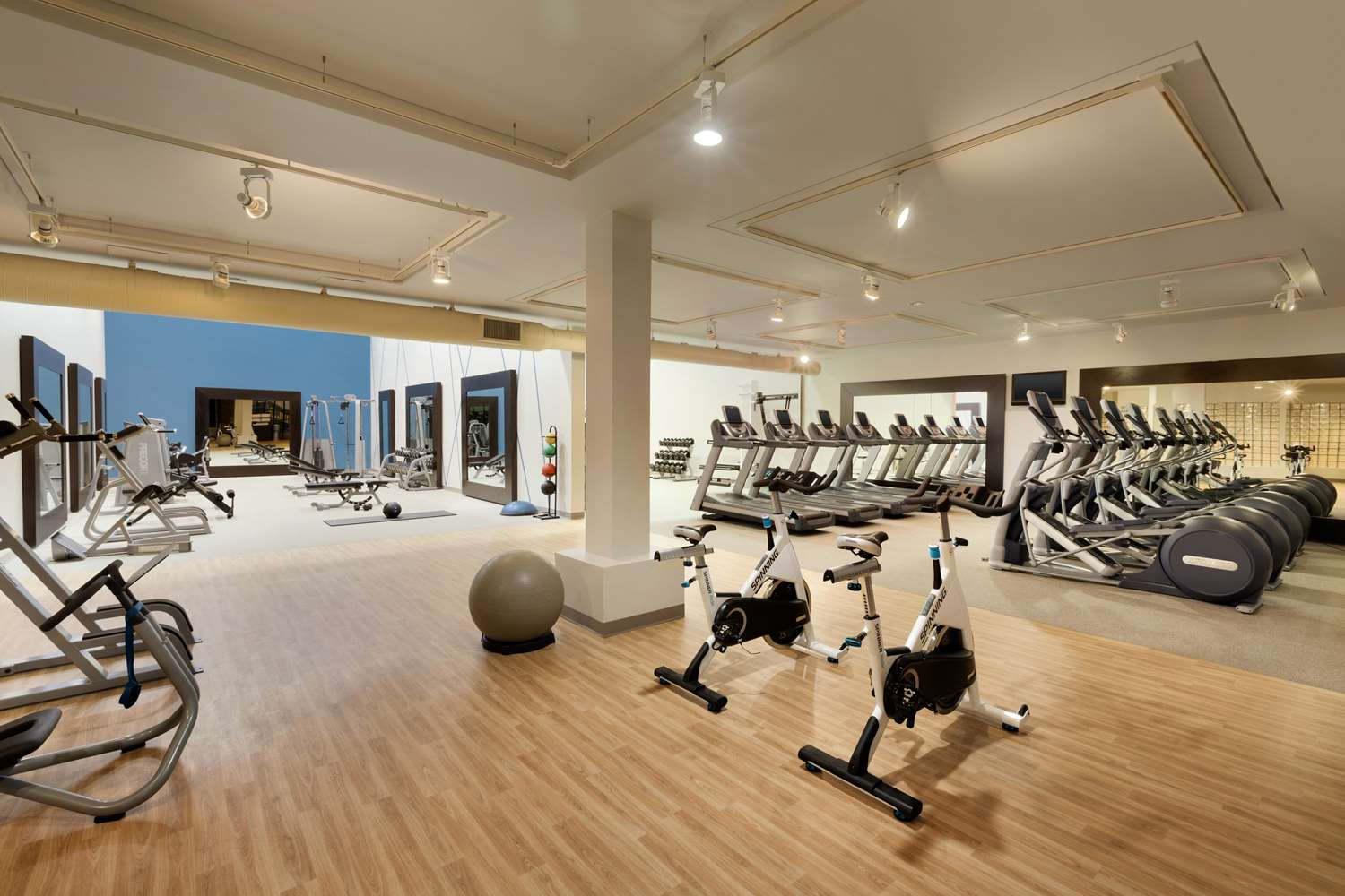 Fitness/ Exercise Room - DoubleTree Resort by Hilton Hotel Scottsdale