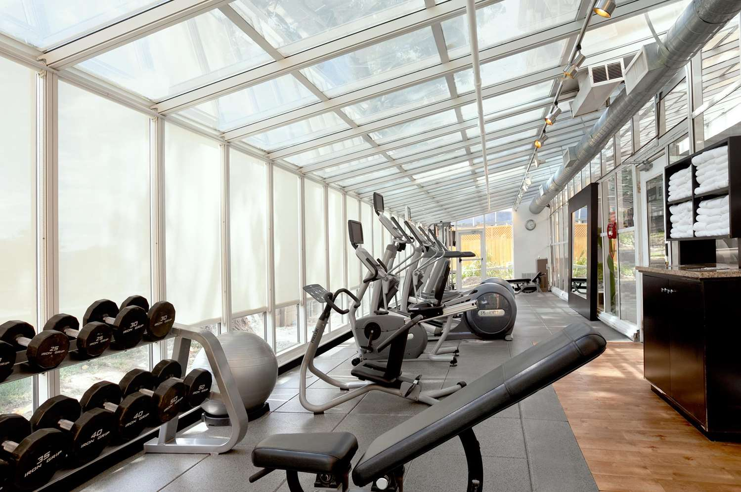 Fitness/ Exercise Room - Embassy Suites San Francisco Airport Burlingame