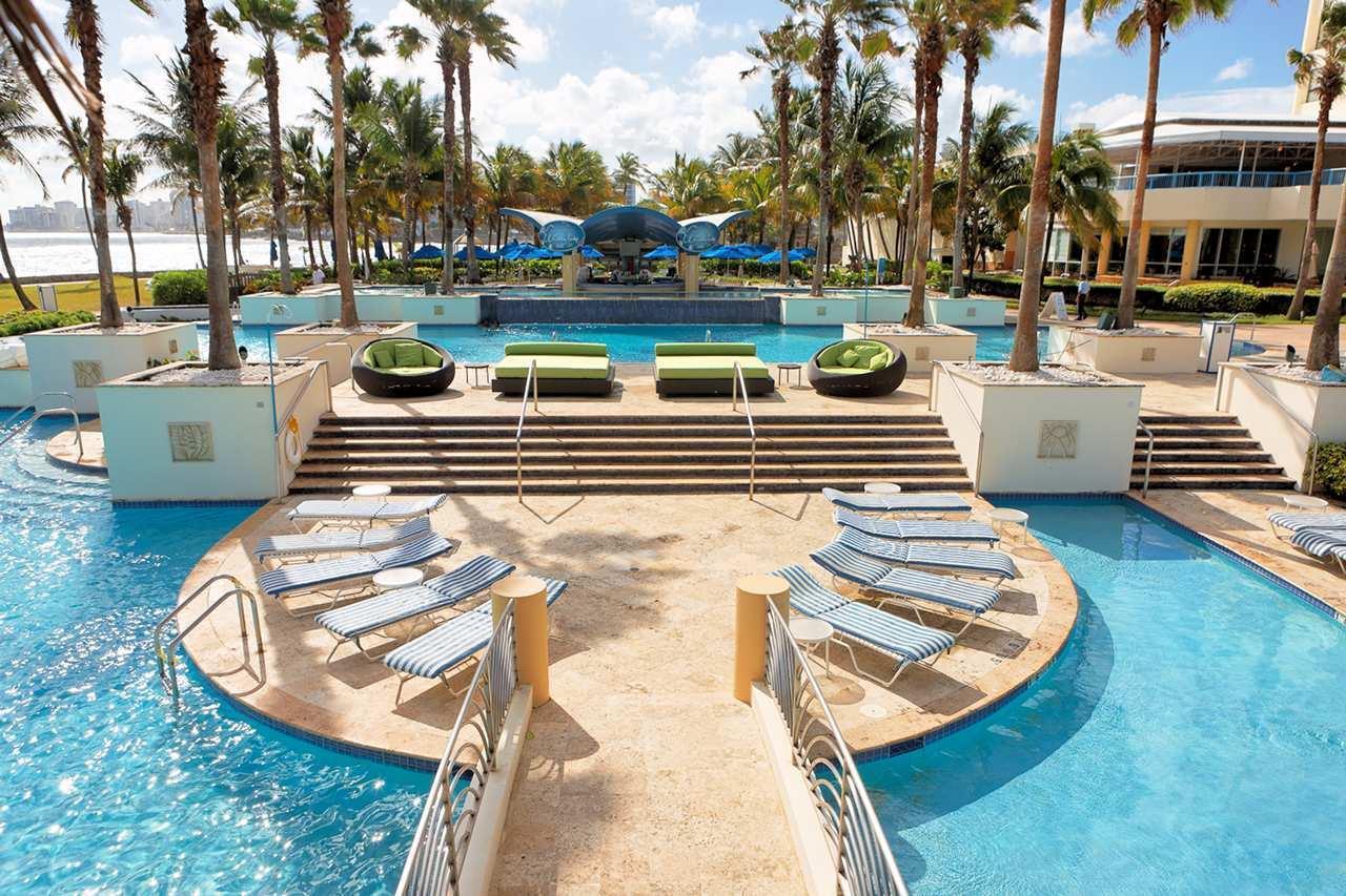Pool - Caribe Hilton Hotel Condado San Juan