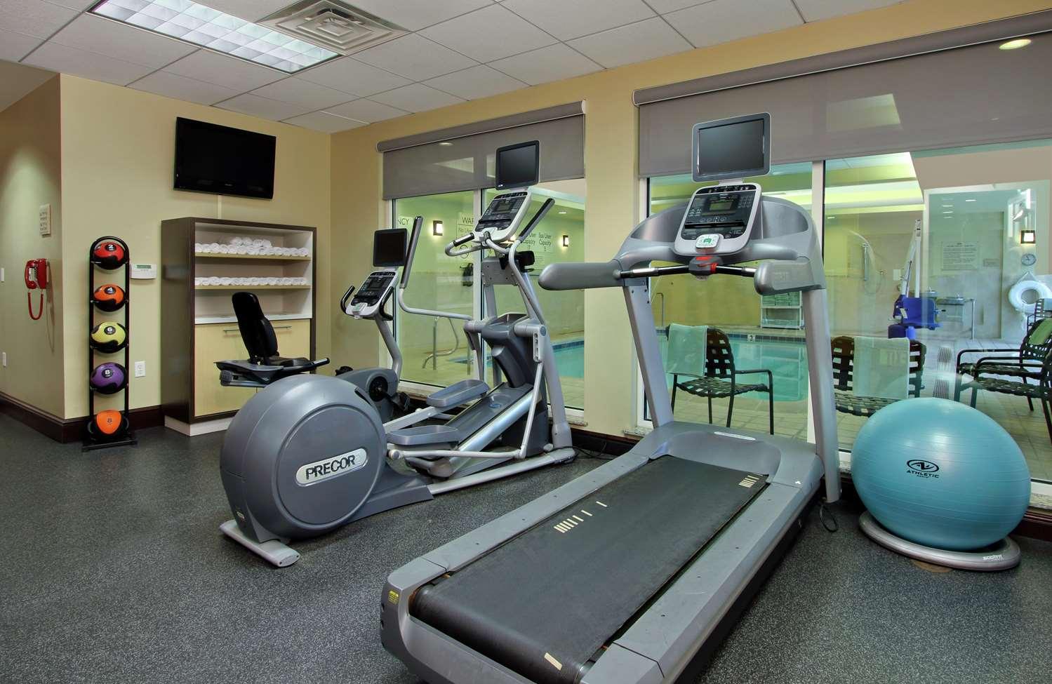 Fitness/ Exercise Room - Hilton Garden Inn Santa Rosa