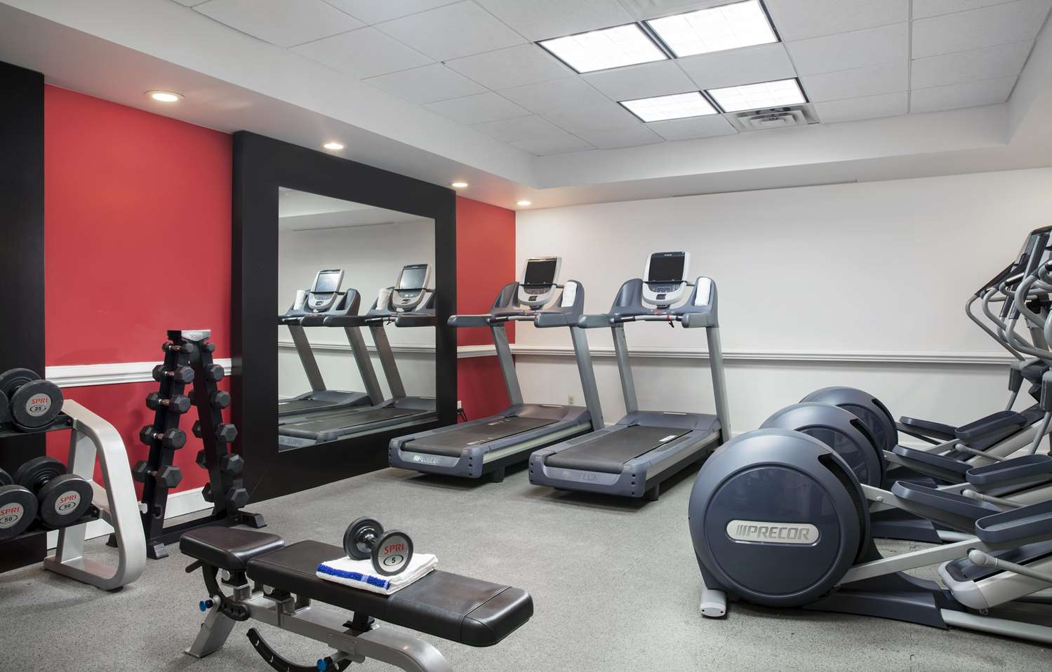Fitness/ Exercise Room - DoubleTree by Hilton Hotel Tallahassee