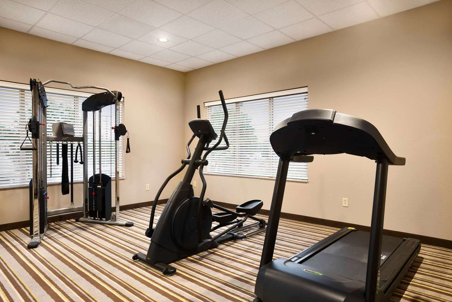 Fitness/ Exercise Room - Super 8 Hotel Hershey