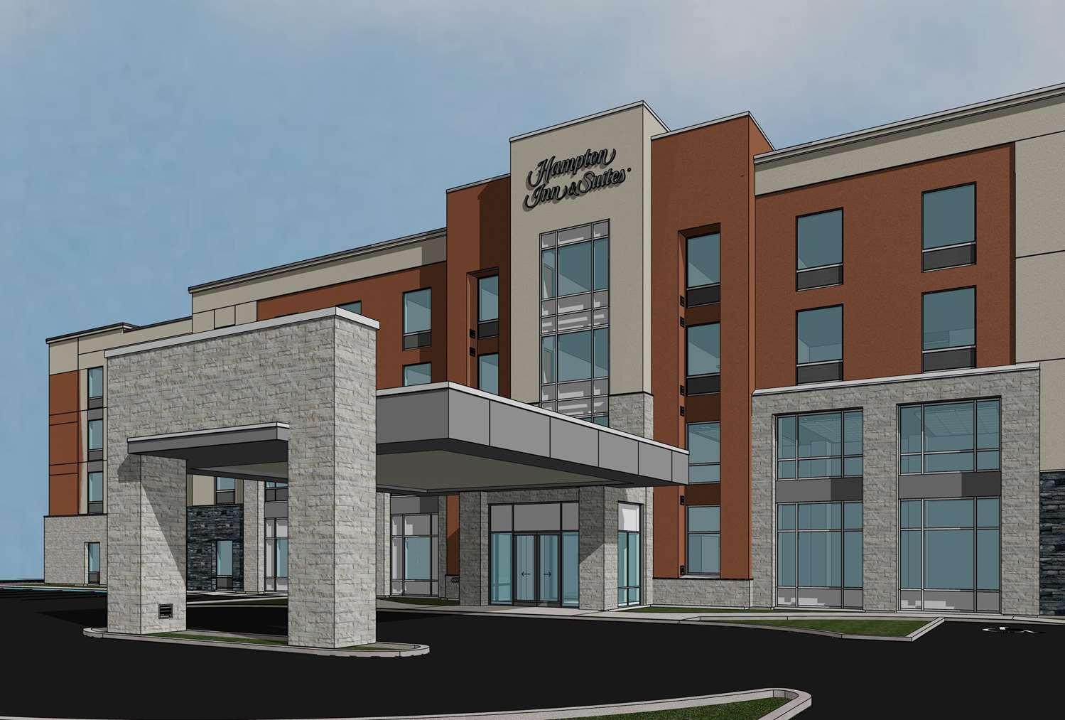 Exterior view - Hampton Inn & Suites Airdrie