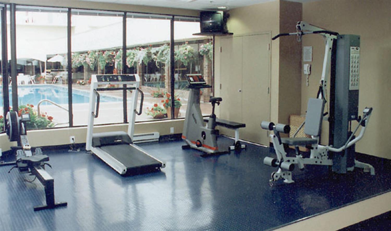 Fitness/ Exercise Room - Coast Capri Hotel Kelowna