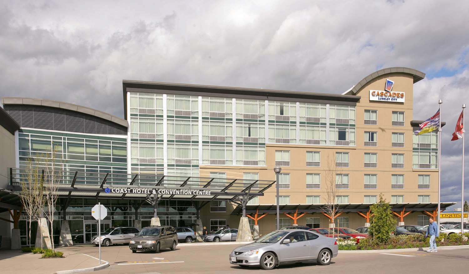 Exterior view - Coast Hotel & Convention Centre Langley