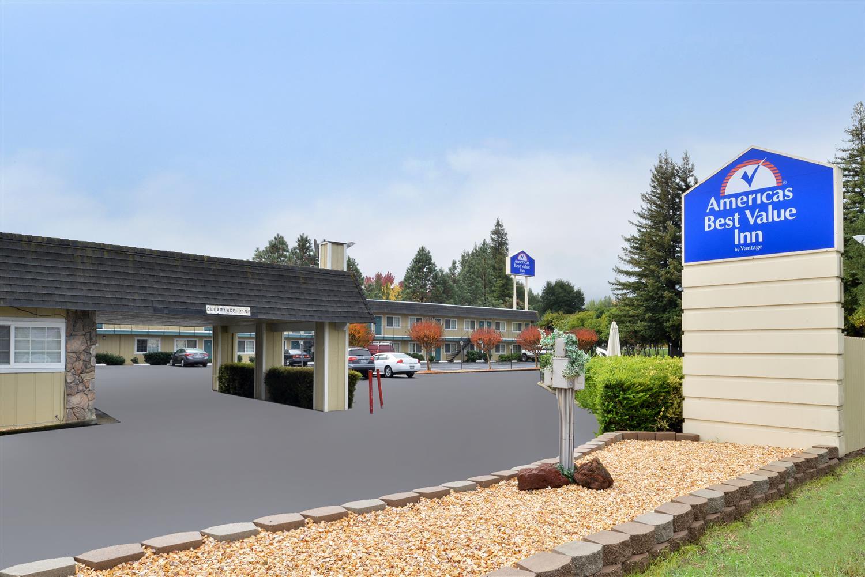 Exterior view - Americas Best Value Inn Ukiah