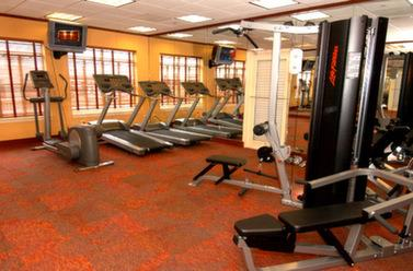 Fitness/ Exercise Room - Rod N Reel Resort Chesapeake Beach