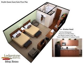 Room - Ledgestone Hotel Billings