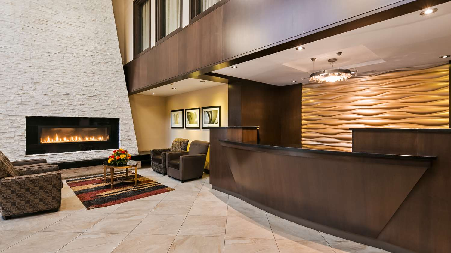 Lobby - Best Western Plus Edmonton Airport Hotel Leduc